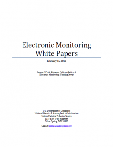 NMFS EM White Papers