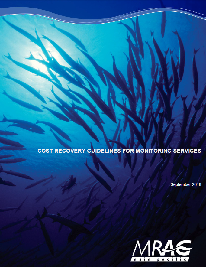 Cost Recovery Guidelines for Monitoring Services