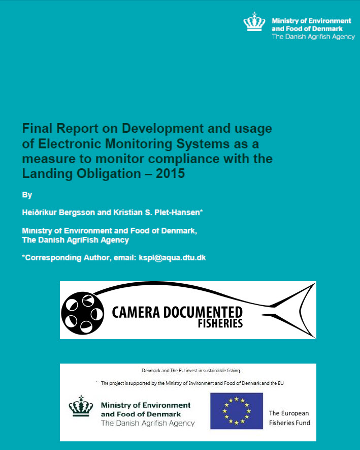 Final Report on Development and usage of Electronic Monitoring System as a measure to monitor compliance with the Landing Obligation - 2015