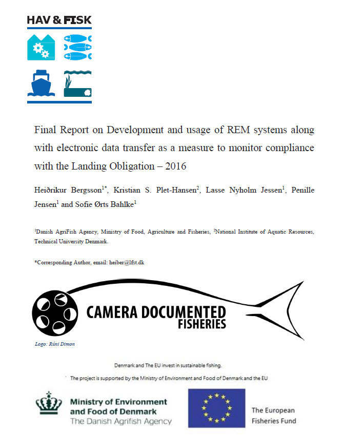 Final Report on Development and Usage of REM systems along with electronic data transfer as a measure to monitor compliance with the Landing Obligation